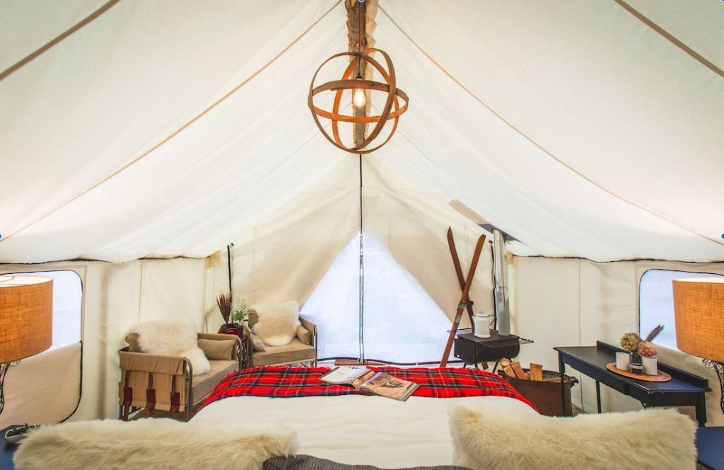 Experience Midwestern Luxury: Glamping On A Blueberry Farm