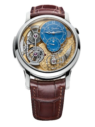 Romain Gauthier's Logical One Like You've Never Seen It With Byzantine-Style Hand-Engraving
