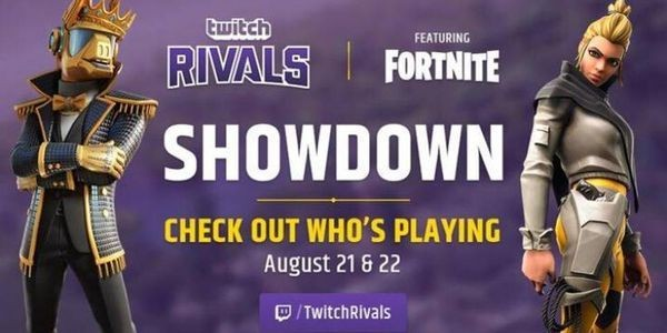 Watch The $400,000 'Fortnite' Twitch Rivals Tournament Right Here