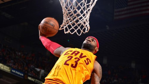 LeBron James Leads The NBA's Endorsement All-Stars 2015