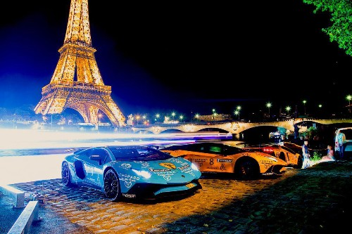 Princes And Sheikhs Join Exclusive 'Scandiera' Supercar Rally From Stockholm To Monaco