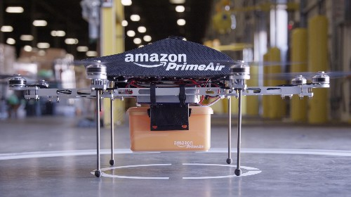 Amazon Surges As It Pleads With FAA To Test Drones