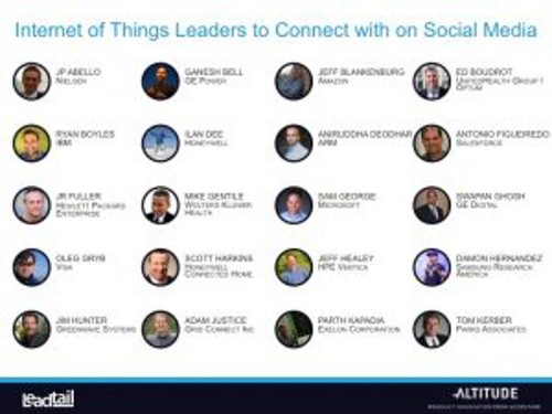 257 IoT Thought Leaders And Who Influences Them