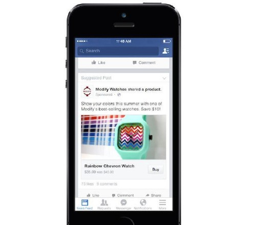 Facebook Buy Button Could Be Amazon Reviews On Steroids