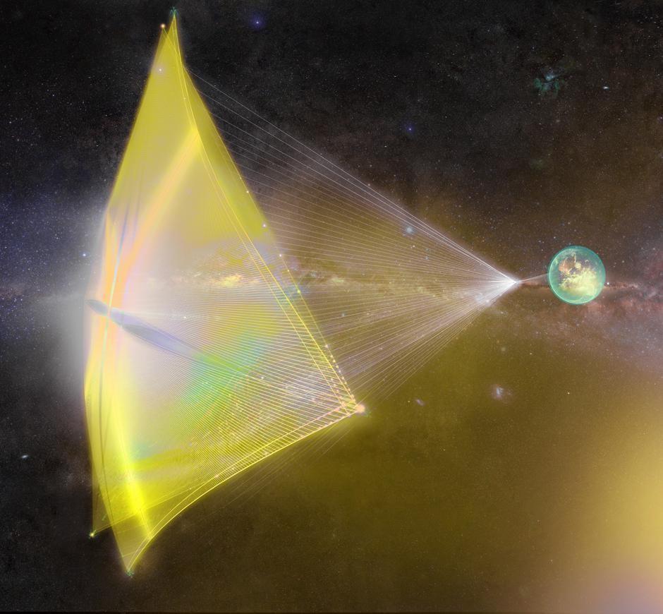 Billionaire Yuri Milner And Stephen Hawking Team Up To Send Nanospaceships To Alpha Centauri