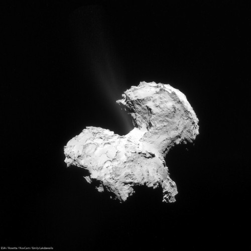 Comet Probe Finds Elements Of Life