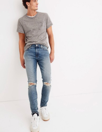 Your Favorite Men's Jeans & T-Shirt Combo Is On Sale At Madewell Today