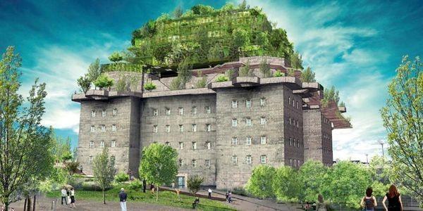 Former Nazi Bunker To Open As Luxury Hotel In Hamburg, Germany