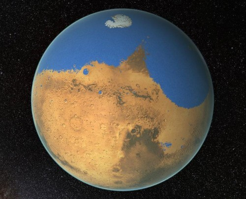 New Water-Cycle Explains Why Mars Is A Barren Planet