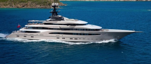 Shahid Kahn's $1.2 Million (Per Week) Superyacht Impresses With Opulence At The Miami Yacht Show