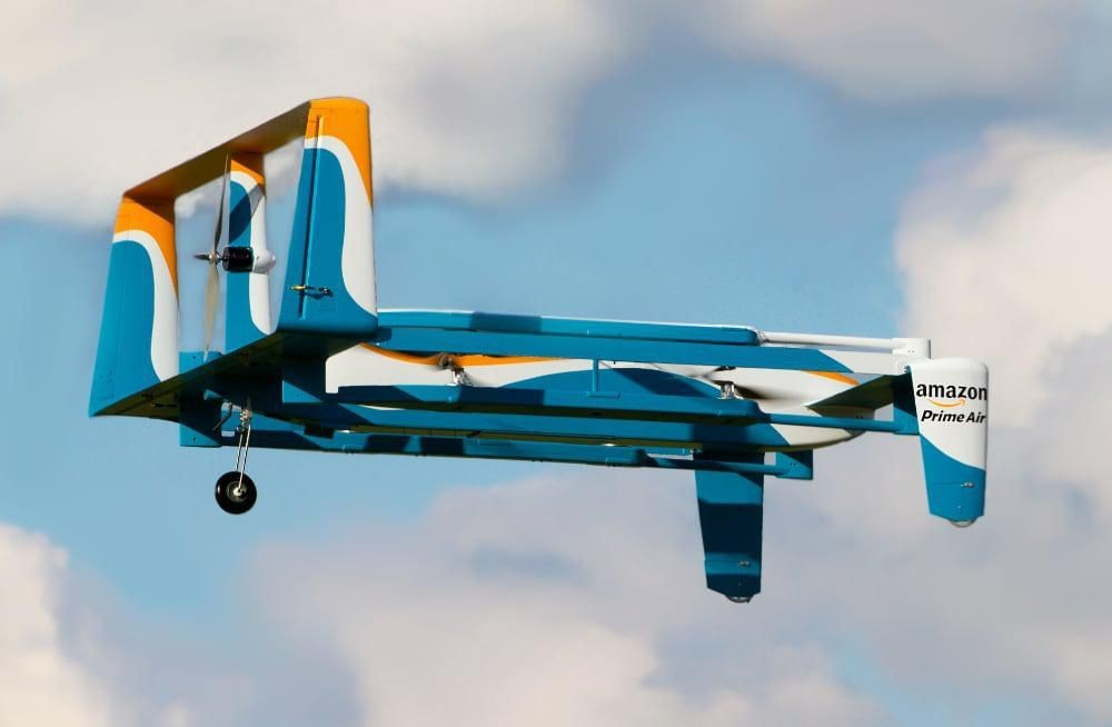 Amazon Needs This Wireless In-Flight Drone Recharging Tech For Prime Air