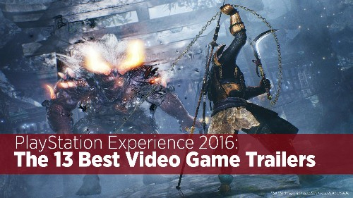 The Top 13 Video Game Trailers At PlayStation Experience 2016