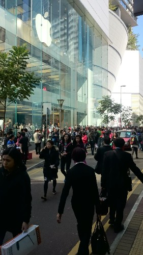 Hong Kong's Severe iPhone 6 Obsession