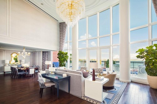 The Boston Harbor Hotel Debuts Its New Presidential Suite