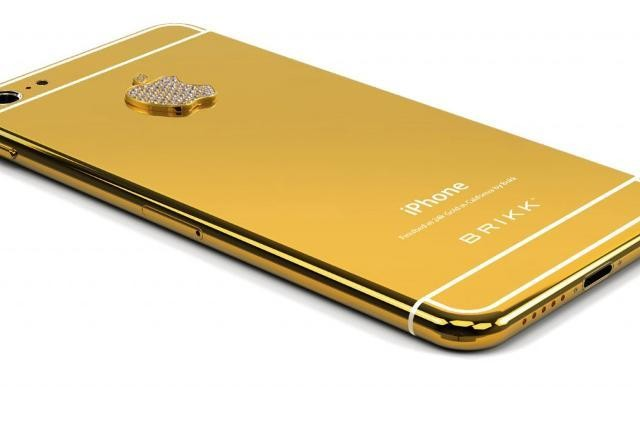 The iPhone 6 Isn't Official, But A 24-Karat Gold iPhone 6 Is