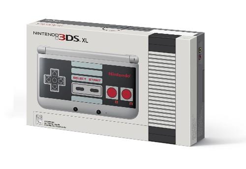 Nintendo Taps Retro Nostalgia With GameStop Exclusive NES Edition 3DS XL