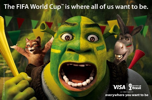 How Visa, DreamWorks Animation And Fox Scored Big Time In The World Cup