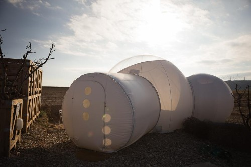 Do Not Leave Spain Without Sleeping In A Bubble And Exploring This Desert