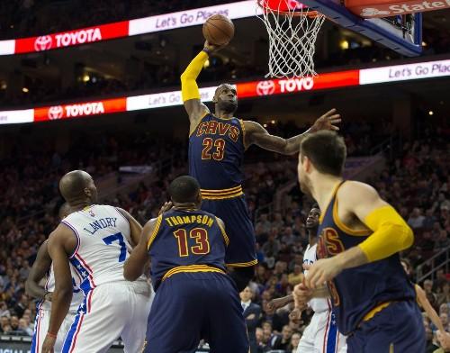 #1 LeBron James