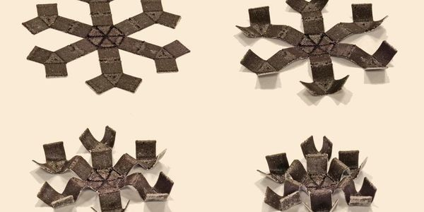 Shape-Shifters: These 3D Printed Smart Materials Can Jump, Crawl, And Play Catch