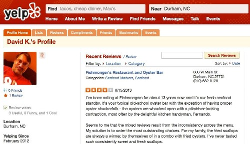 Yelp Reviews: A Weapon Against Food Poisoning?