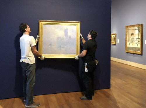 Claude Monet Masterpiece Returns To Museum Of Fine Arts, St. Petersburg