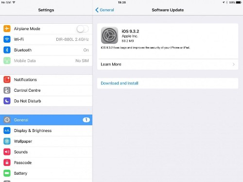 Apple iOS 9.3.2 Has A Nasty Surprise