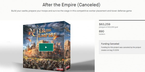 Abrupt cancellation of Kickstarter campaign for 'After The Empire' leads to mixed emotions online
