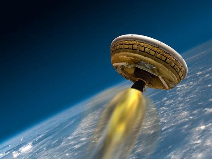 NASA Successfully Tests Its Own 'Flying Saucer'