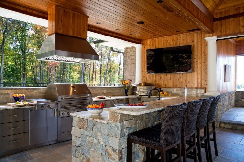 Architects Share Top Kitchen And Bath Trends -- Outdoor Kitchens Lead List