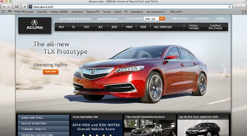 Acura Hot, Scion Not, In J.D. Power Website Study