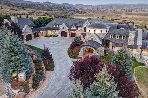 Take A Virtual Tour Of This $10.75M Old World-Inspired Estate In Park City, Utah