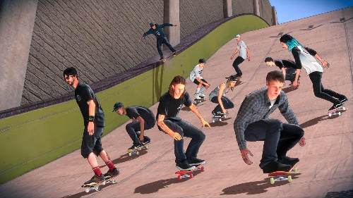 'Tony Hawk's Pro Skater 5' Has Painted Over Its Awful Graphics With Cell Shading