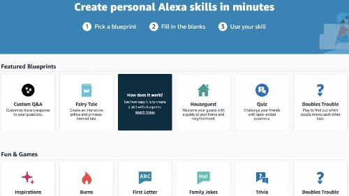 Make Alexa Do Whatever You Want With New Amazon Alexa Skill Blueprints