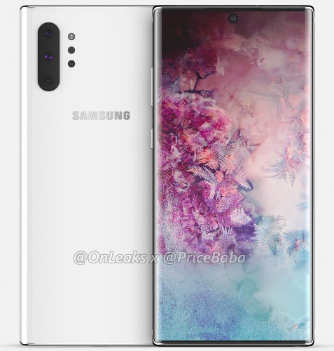 First 'Galaxy Note 10 Pro' Renders Appear And They Impress