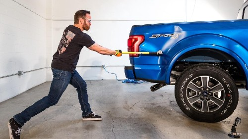 What's Crazier Than Smashing An Aluminum Ford F-150 With A Sledgehammer? The Repair Bill