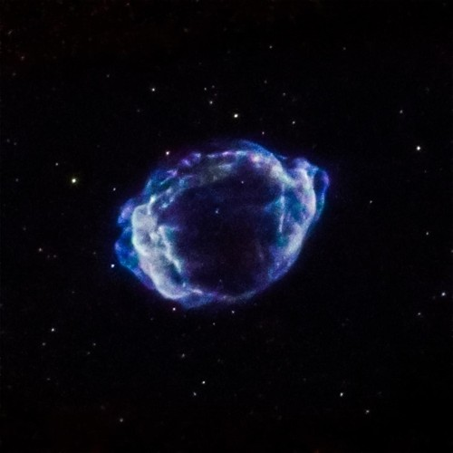 The Milky Way's Most Recent Supernova Was Hidden... Until Now!