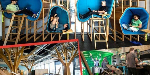 How Offices Are Innovating To Improve Our Happiness, Productivity And Well Being