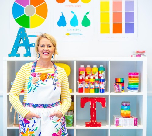 How This Former Elementary School Art Teacher Launched A Multimillion-Dollar Startup