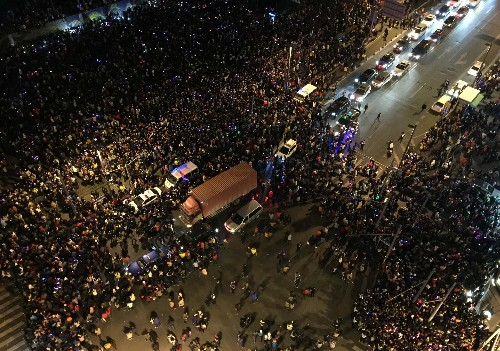 Shanghai Death Toll Rises By One To 36 In New Year's Eve Stampede Tragedy