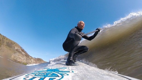 Mr. Crud Made Millions From Mud, Now Surfs All Day