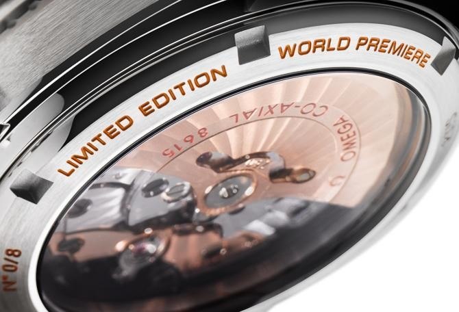 Omega Watches Debut Orange Ceramic With A Limited Edition Seamaster Planet Ocean In Platinum