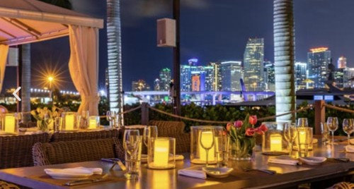 A Superyacht Marina Is The Location For Miami's Hottest New Restaurant