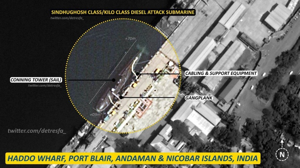 India's Submarines Make Strategic Move To Dominate Indian Ocean