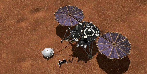 NASA's InSight Lander Can Hear A Symphony Of Hum-Like Noises On Mars