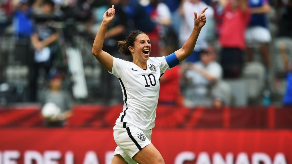 Carli Lloyd: 'I Want Young Players To Be Inspired By My Journey'