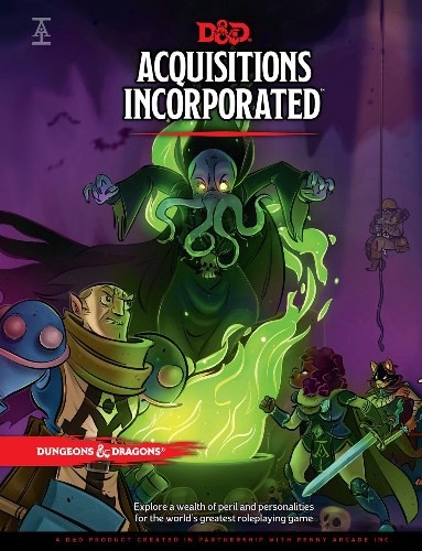Fifty Word Review: Acquisitions Incorporated
