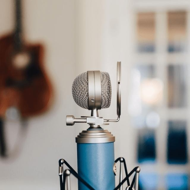 Podcasting - Magazine cover