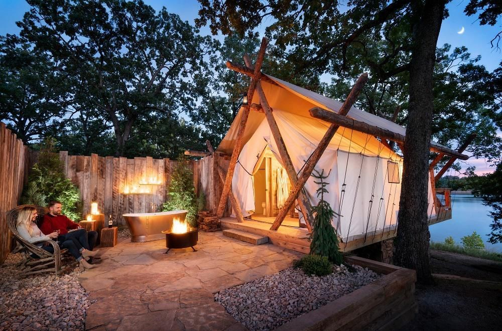Glamping Is 2020's Hottest Travel Trend - Here Are The Best Places For Your Trip