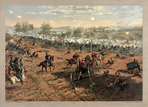 The Gettysburg Battle: How One Billion Years Of Earth's History Impacted American History